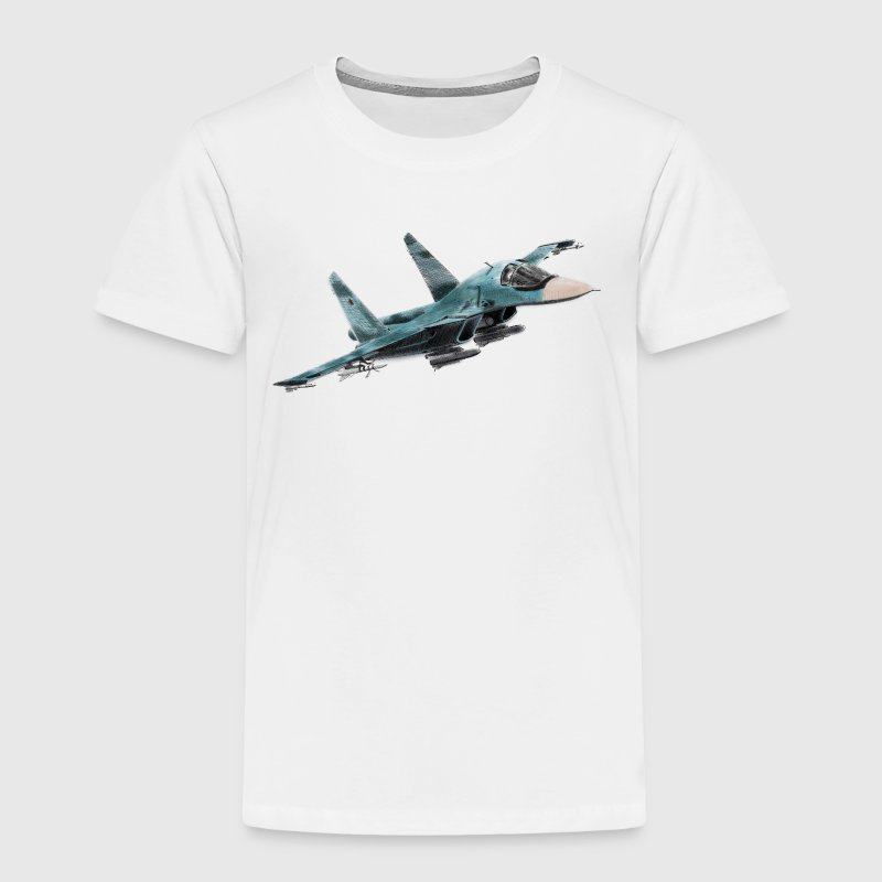 Sukhoi Su-34 Baby & Toddler Shirts - Toddler Premium T-Shirt