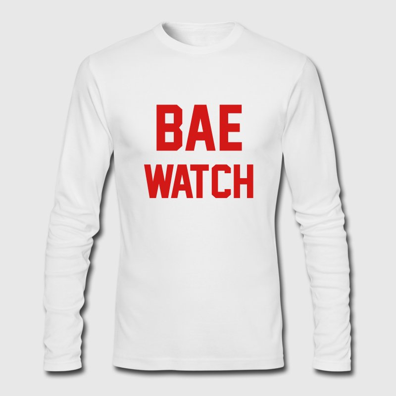 Bae Watch Long Sleeve Shirts - Men's Long Sleeve T-Shirt by Next Level