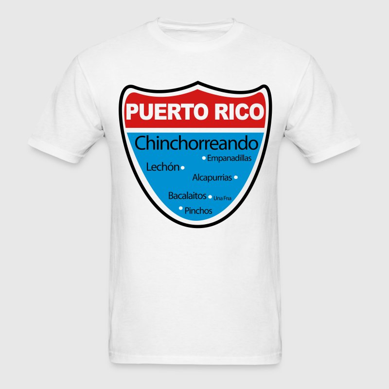 Chinchorreando en Puerto Rico - Men's T-Shirt
