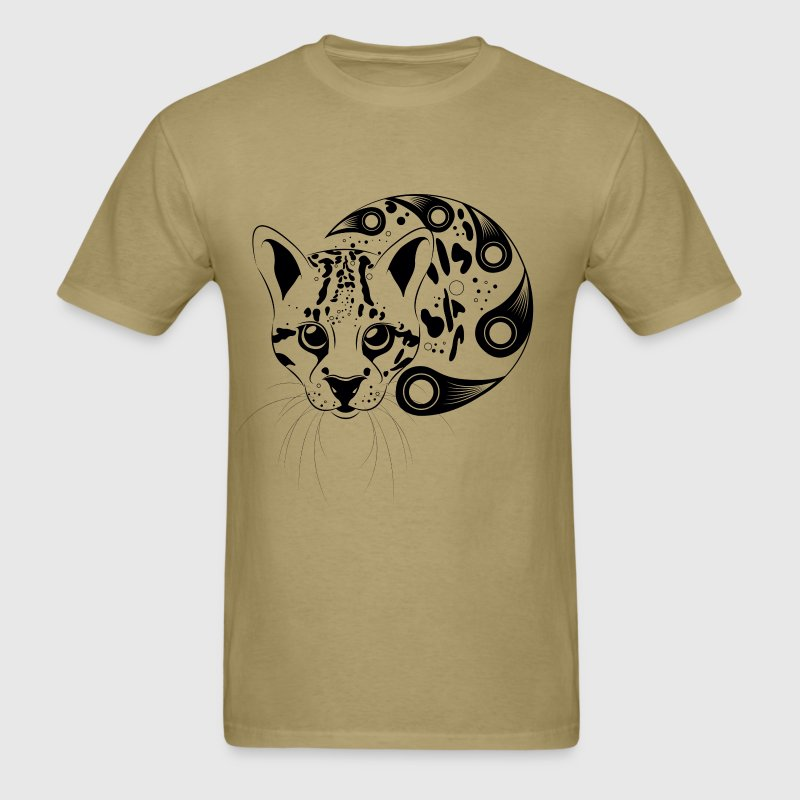 Men's Ocelot Big Cat - Men's T-Shirt