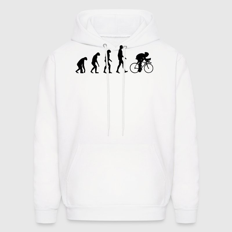 Evolution Bike, Cycling Hoodies - Men's Hoodie