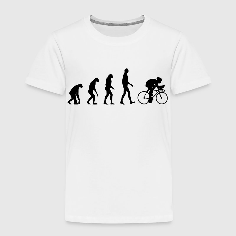 Evolution Bike, Cycling Baby & Toddler Shirts - Toddler Premium T-Shirt