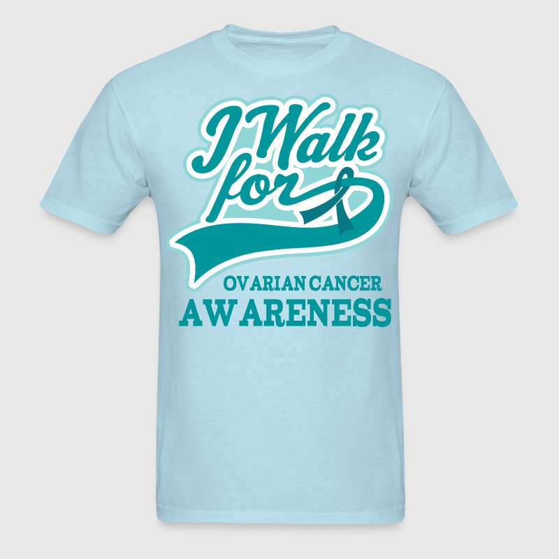 Ovarian Cancer Walk Teal T-Shirts - Men's T-Shirt