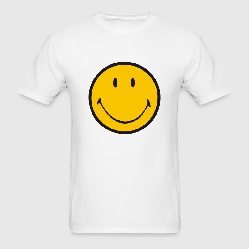 Yellow smiley – Luke Hemmings - Men's T-Shirt