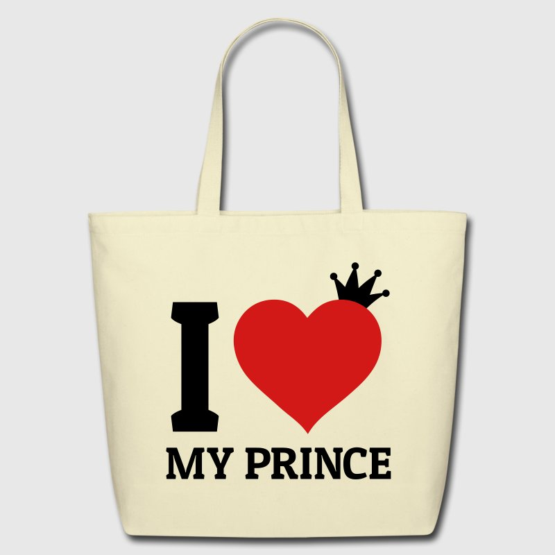 I love my Prince Bags & backpacks - Eco-Friendly Cotton Tote