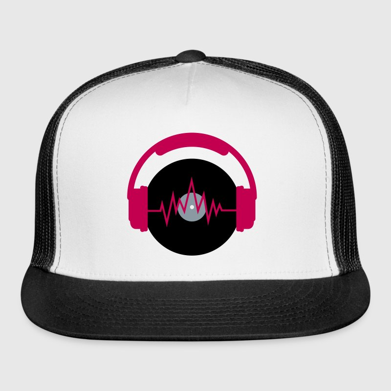 Listen to Music Caps - Trucker Cap