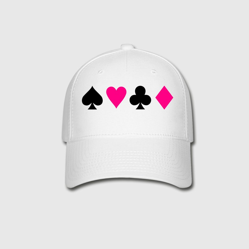 Playing Card Symbols Caps - Baseball Cap