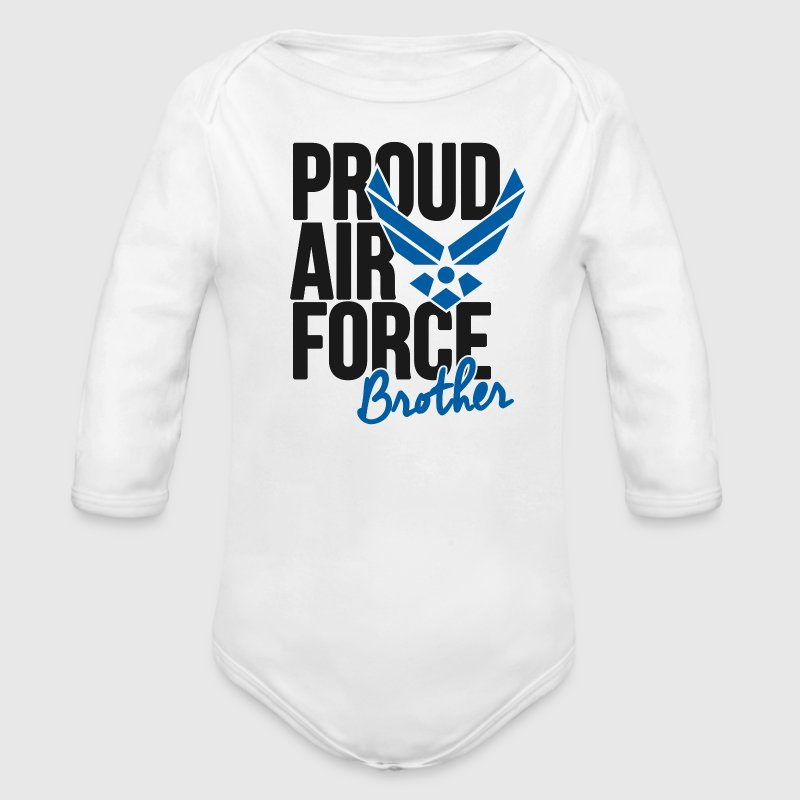 Air Force Brother | Army Baby & Toddler Shirts - Long Sleeve Baby Bodysuit