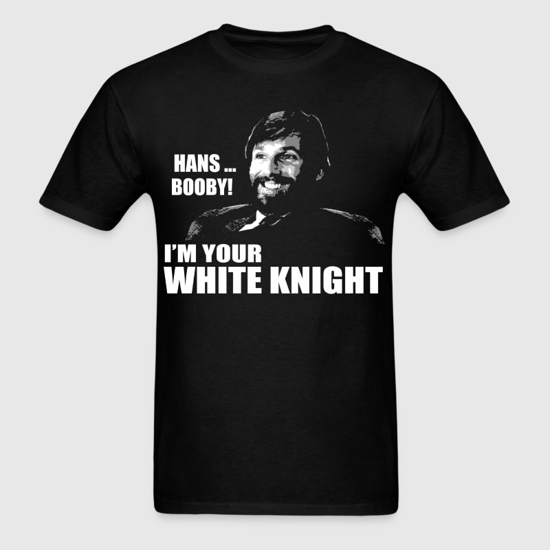 White Knight - Men's T-Shirt