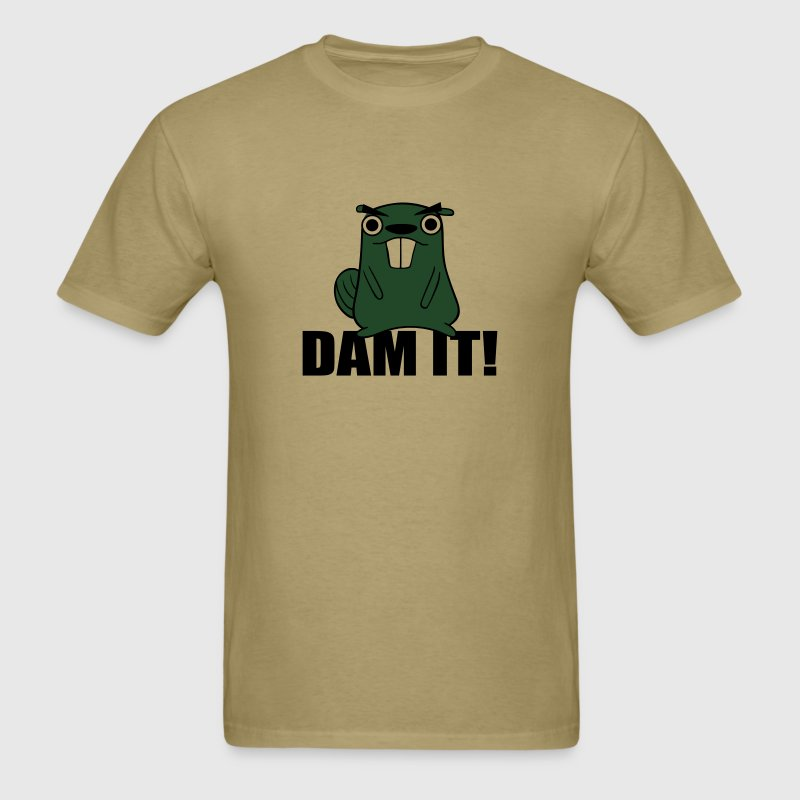 Dam It! Beaver T-Shirts - Men's T-Shirt