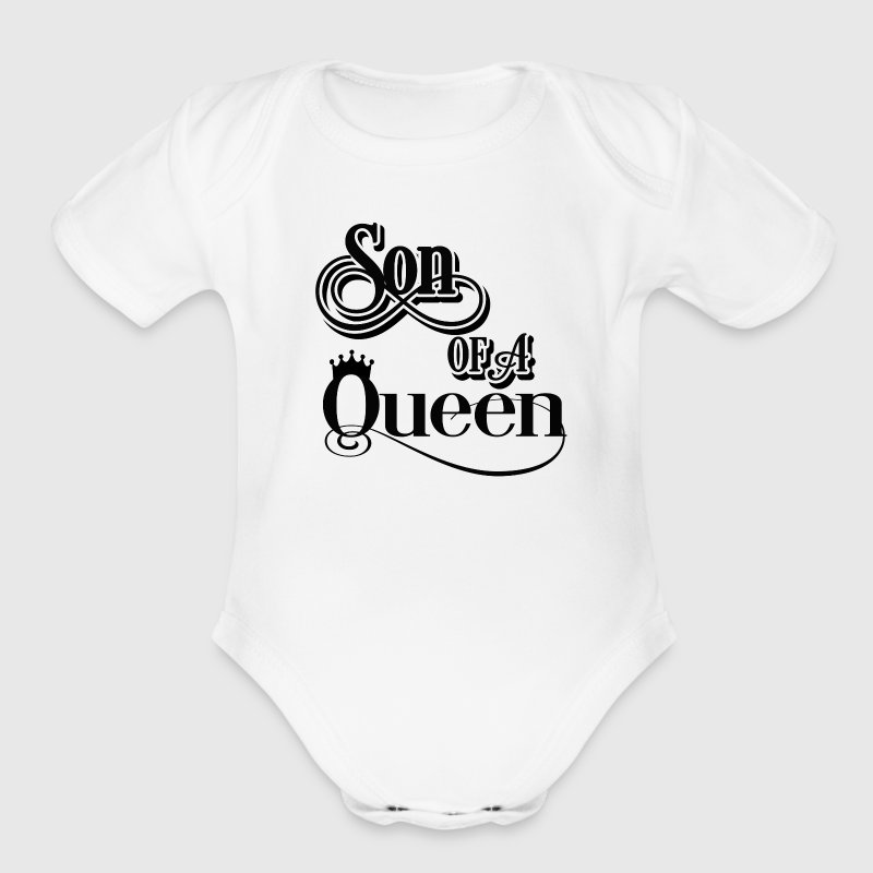 Son of a queen Baby & Toddler Shirts - Short Sleeve Baby Bodysuit