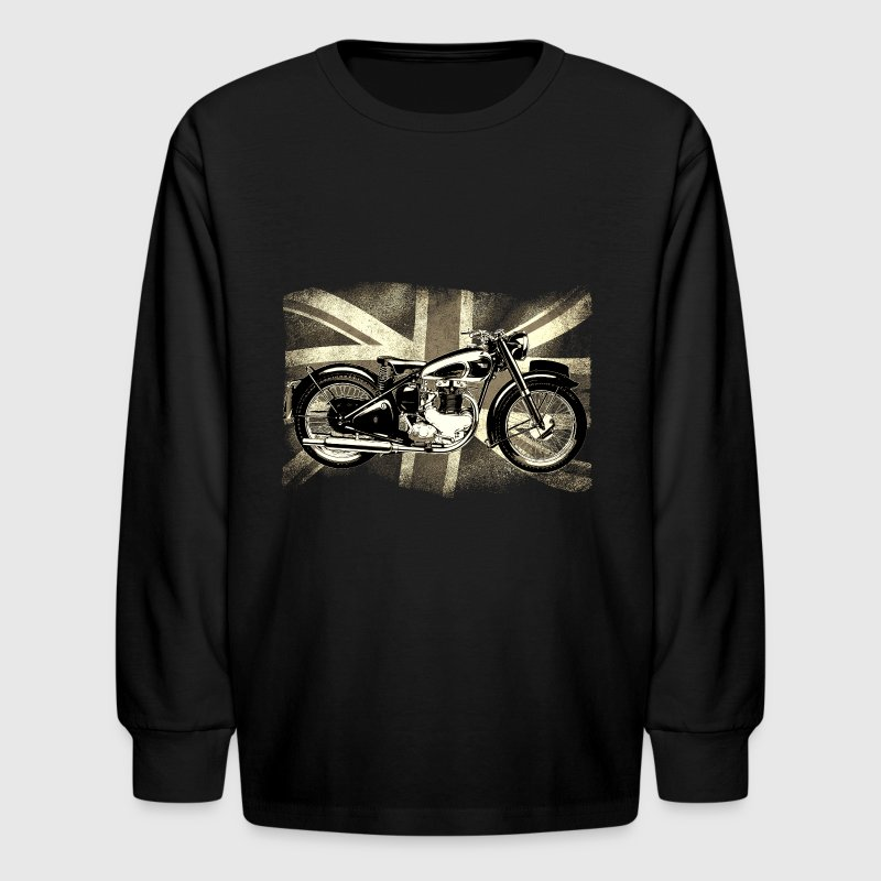 BSA Retro  British Classic Icon patjila2 Kids' Shirts - Kids' Long Sleeve T-Shirt