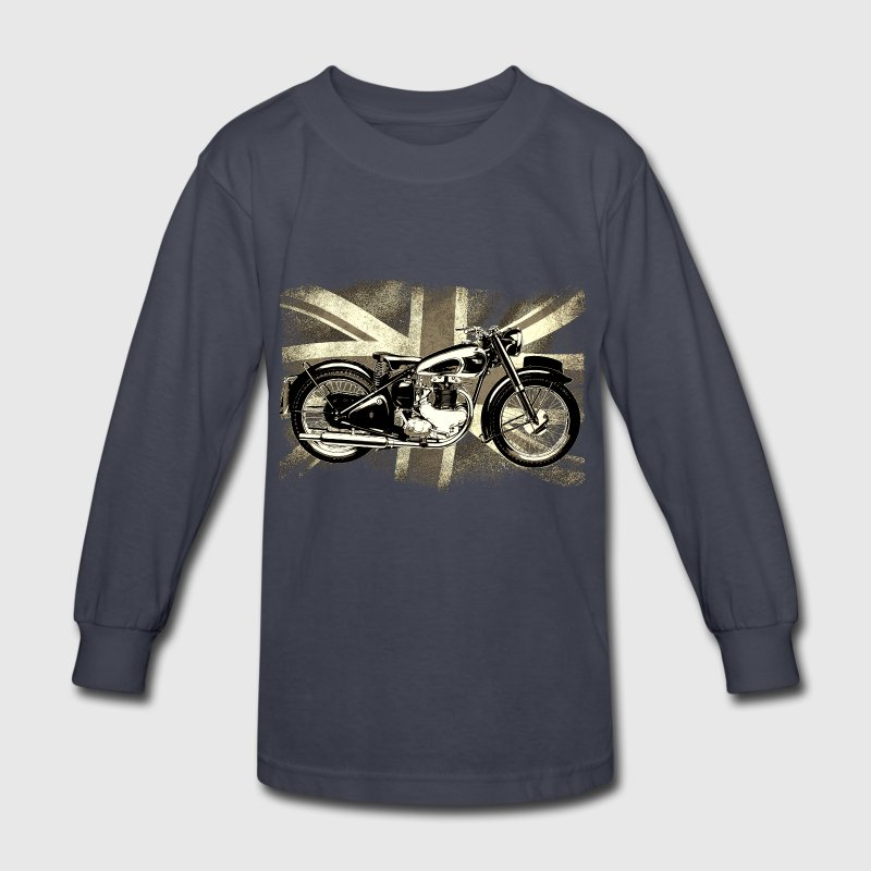 Bsa retro british classic icon patjila2 long sleeve shirt for Retro long sleeve t shirts
