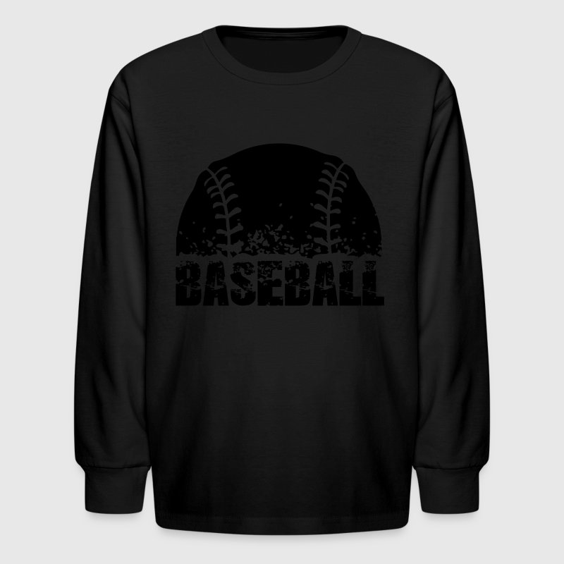 Baseball Kids' Shirts - Kids' Long Sleeve T-Shirt