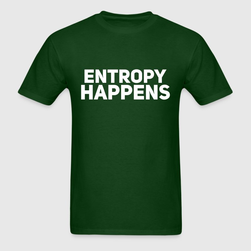 The Flash Entropy Happens - Men's T-Shirt
