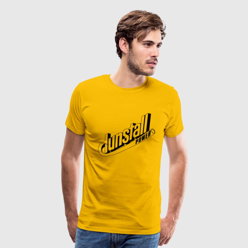 Dunstall Norton cafe racer motorcycle - Men's Premium T-Shirt