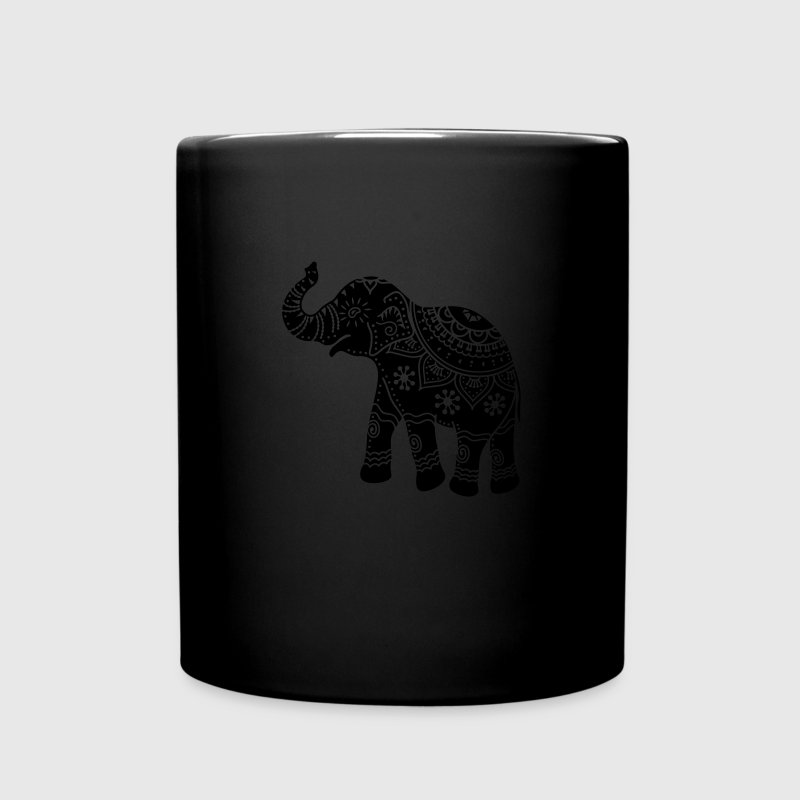 indian elephant Mugs & Drinkware - Full Color Mug