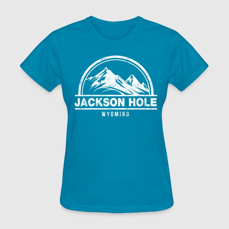 Jackson Hole Wyoming Women's T-Shirts - Women's T-Shirt