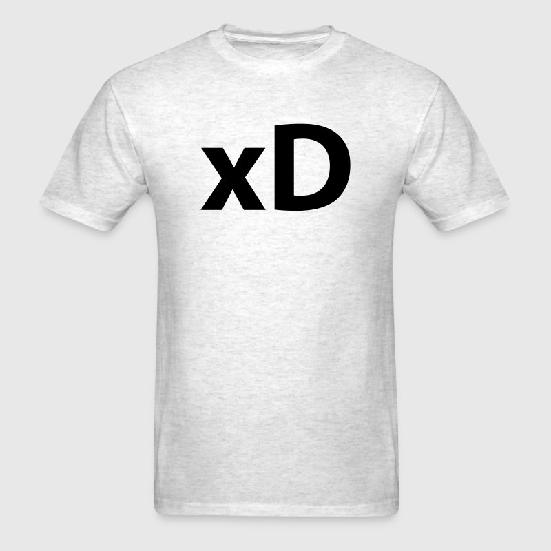 xD (emoticon face) T-Shirts - Men's T-Shirt