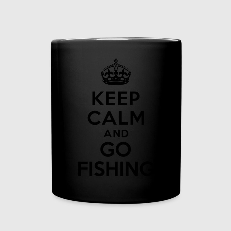 Keep calm and go fishing Mugs & Drinkware - Full Color Mug