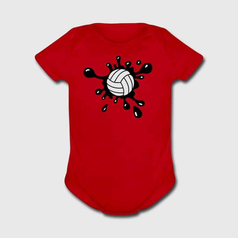 Volleyball Splash Baby & Toddler Shirts - Short Sleeve Baby Bodysuit