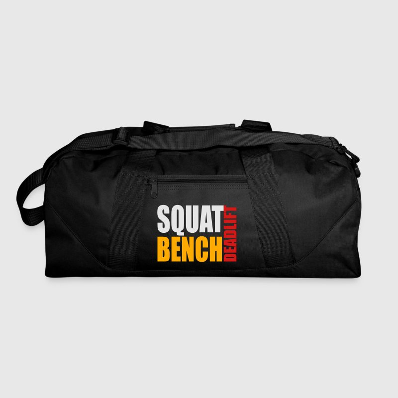 Squat Bench Deadlift - duffle bag - Duffel Bag