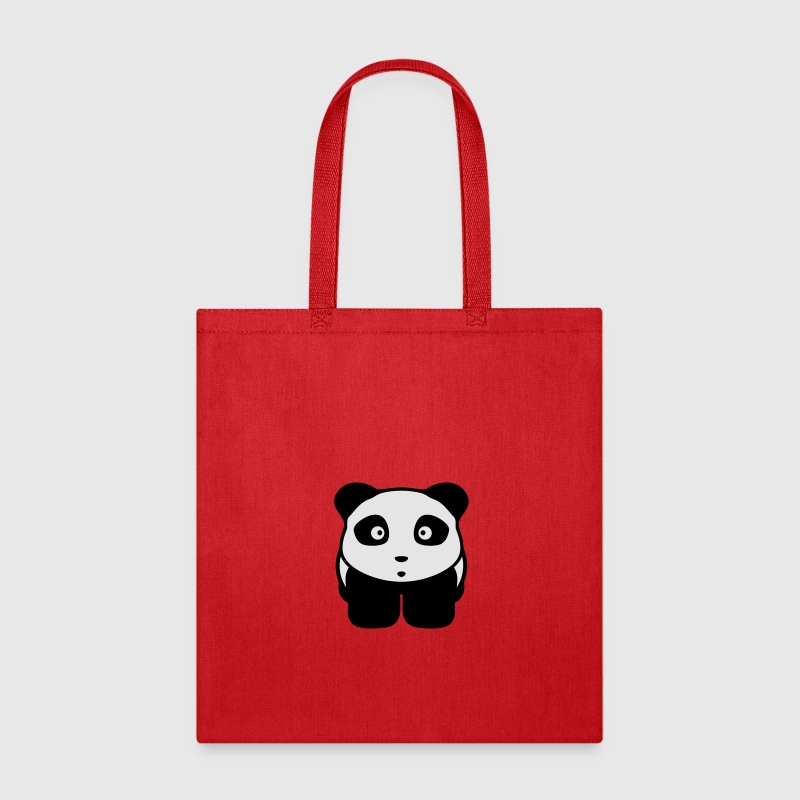 panda manga Bags & backpacks - Tote Bag