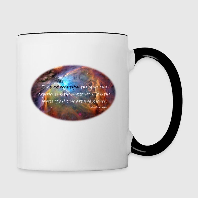 The mysterious: Carl Sagan Quote Mugs & Drinkware - Contrast Coffee Mug