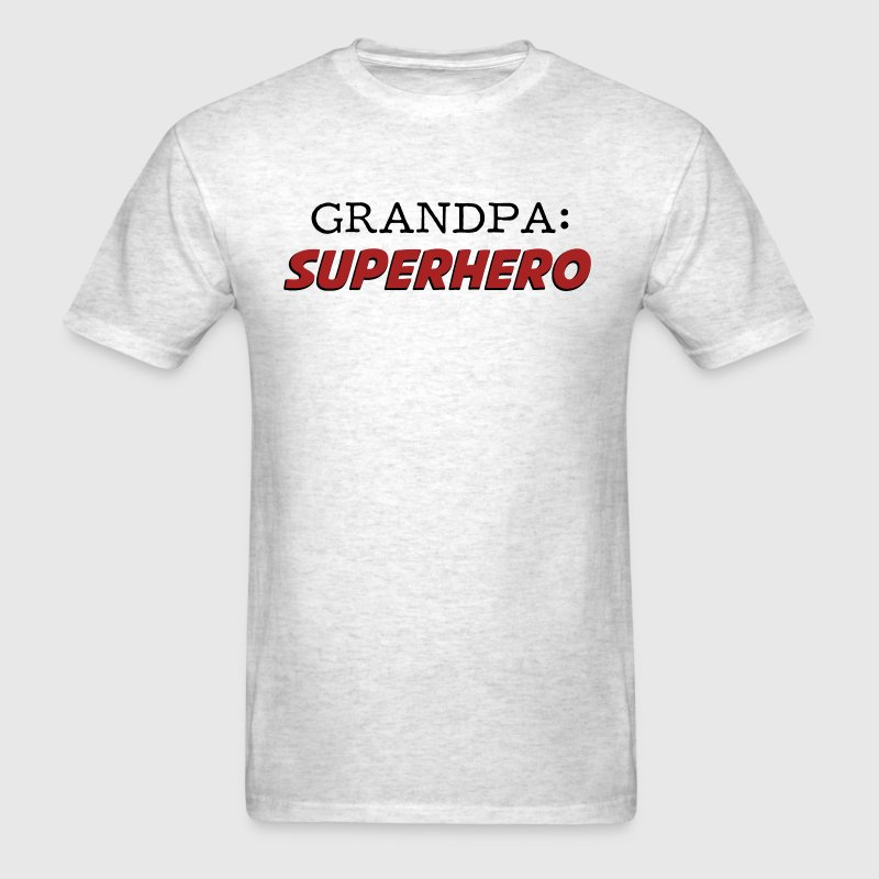 Grandpa is a Superhero Grandfather T-Shirts - Men's T-Shirt