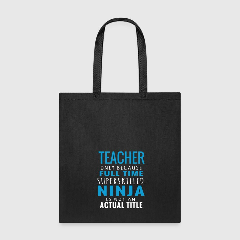 Teacher design Bags & backpacks - Tote Bag