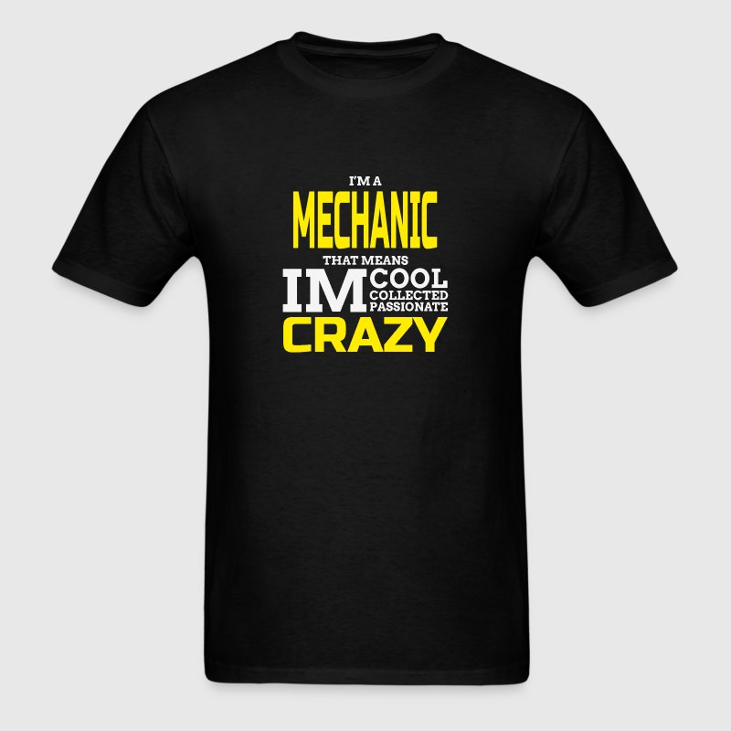 Crazy Mechanic T-Shirts - Men's T-Shirt
