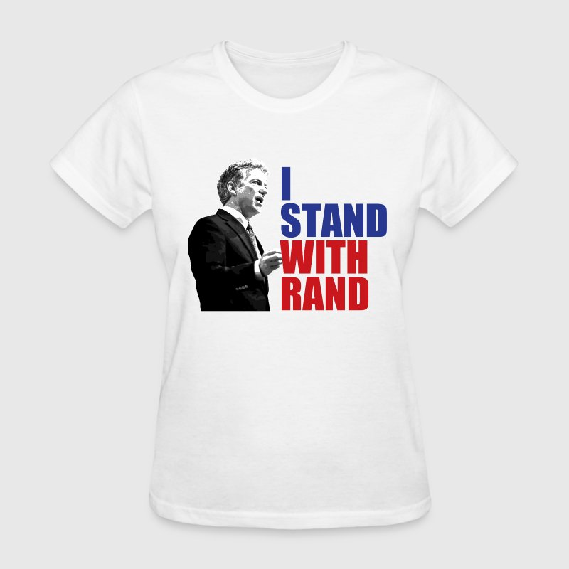 i stand with rand Women's T-Shirts - Women's T-Shirt