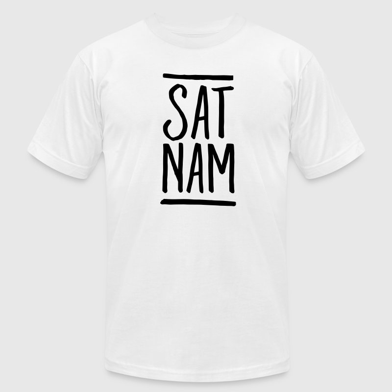 Sat Nam T-Shirts - Men's T-Shirt by American Apparel