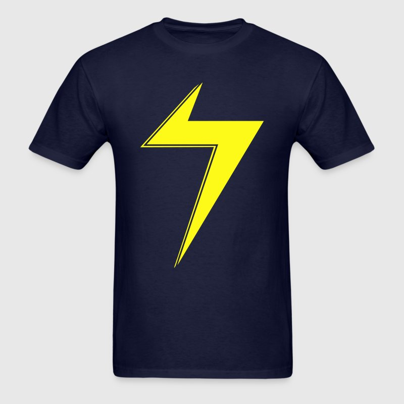 Ms Marvel Bolt T-Shirts - Men's T-Shirt