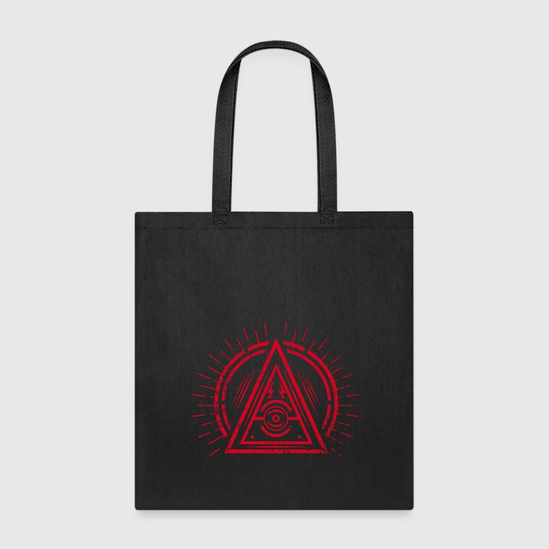 Illuminati - All Seeing Eye - Satan / Black Symbol Bags & backpacks - Tote Bag