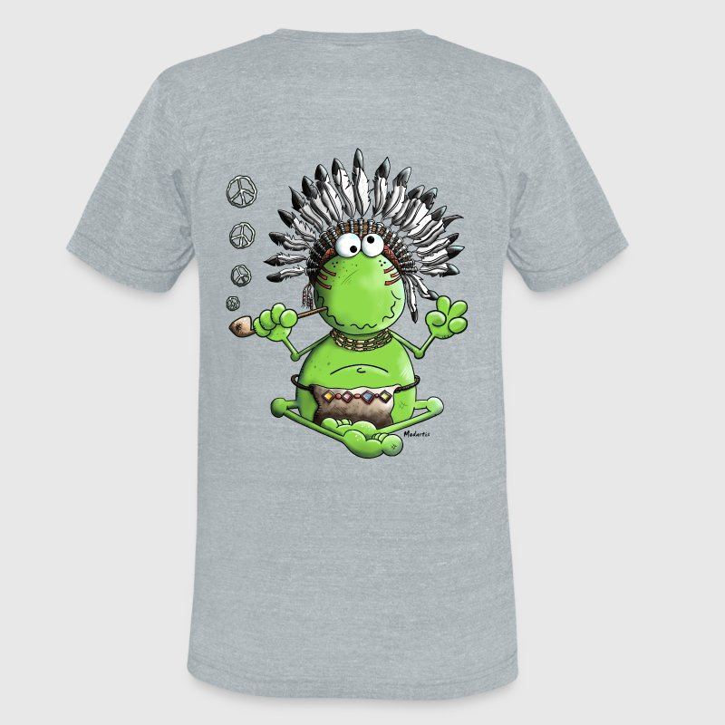 Peace Frog T-Shirts - Unisex Tri-Blend T-Shirt by American Apparel
