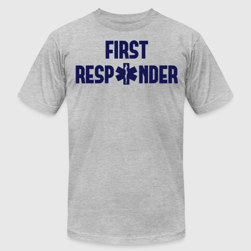 first responder T-Shirts - Men's T-Shirt by American Apparel