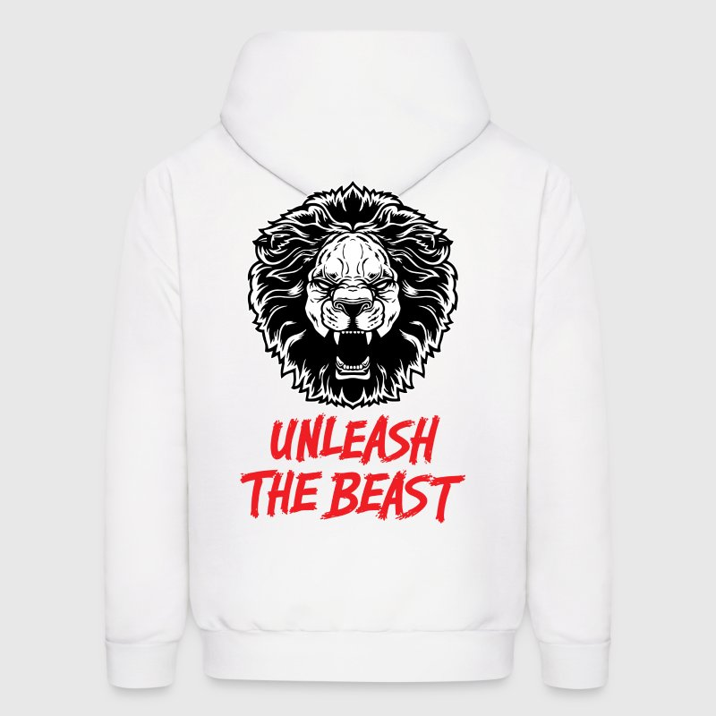 Lion - Unleash The Beast Hoodies - Men's Hoodie