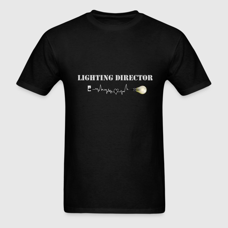 Lighting Director - Men's T-Shirt