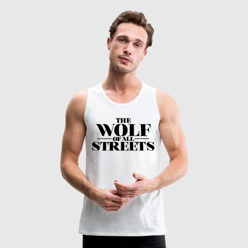 The Wolf Of All Streets, Dicaprio Inspiration Sportswear - Men's Premium Tank