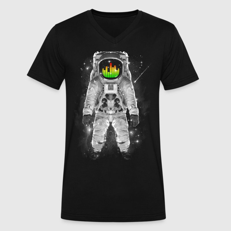 Astronomical Levels T-Shirts - Men's V-Neck T-Shirt by Canvas