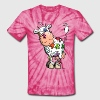 Colorful Cow T-Shirts - Unisex Tie Dye T-Shirt