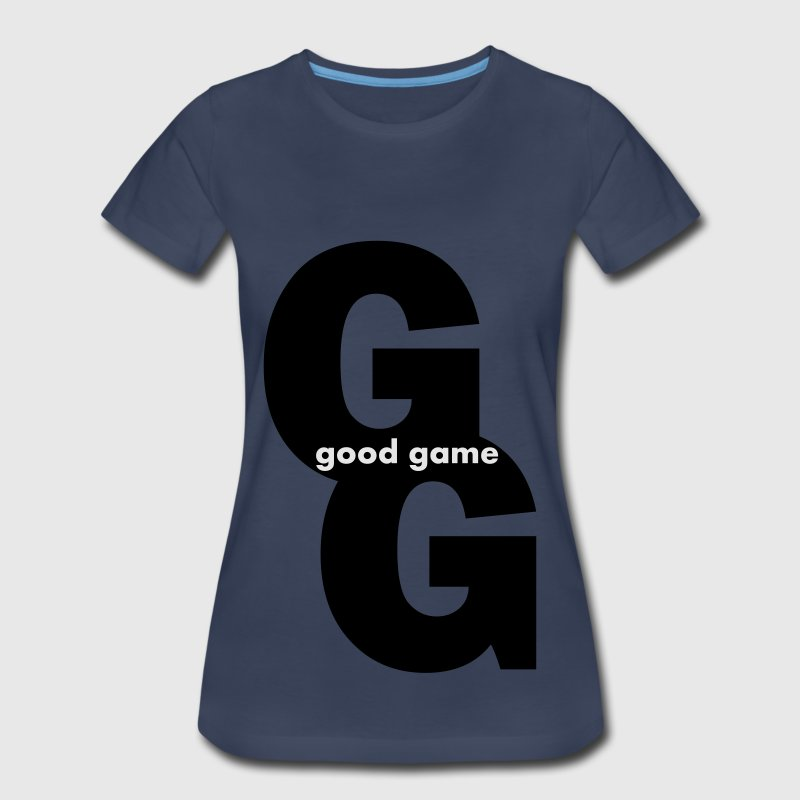 Good Game -  GG - Women's Premium T-Shirt