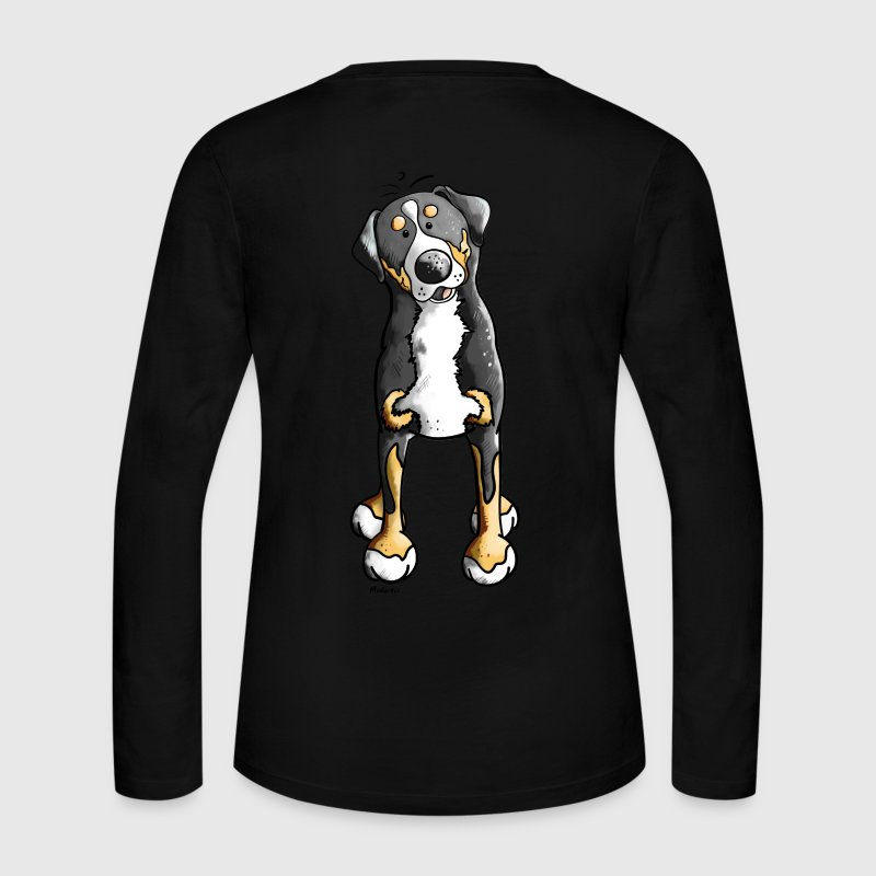 Greater Swiss Mountain Dog Long Sleeve Shirts - Women's Long Sleeve Jersey T-Shirt