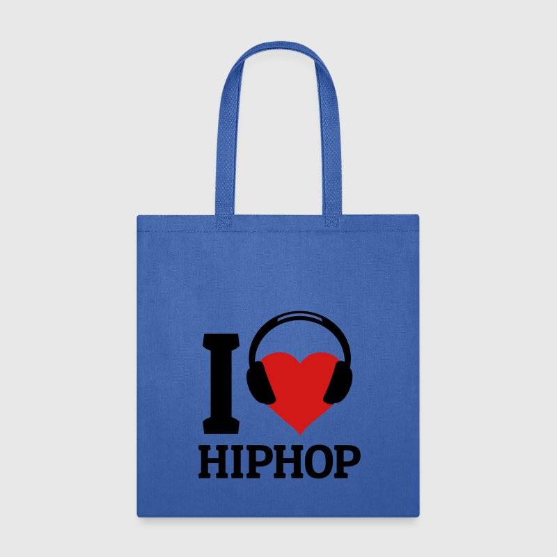 I love Hip Hop Bags & backpacks - Tote Bag