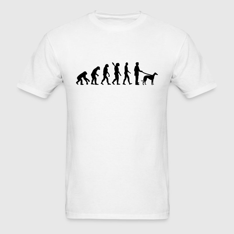 Evolution Greyhound T-Shirts - Men's T-Shirt
