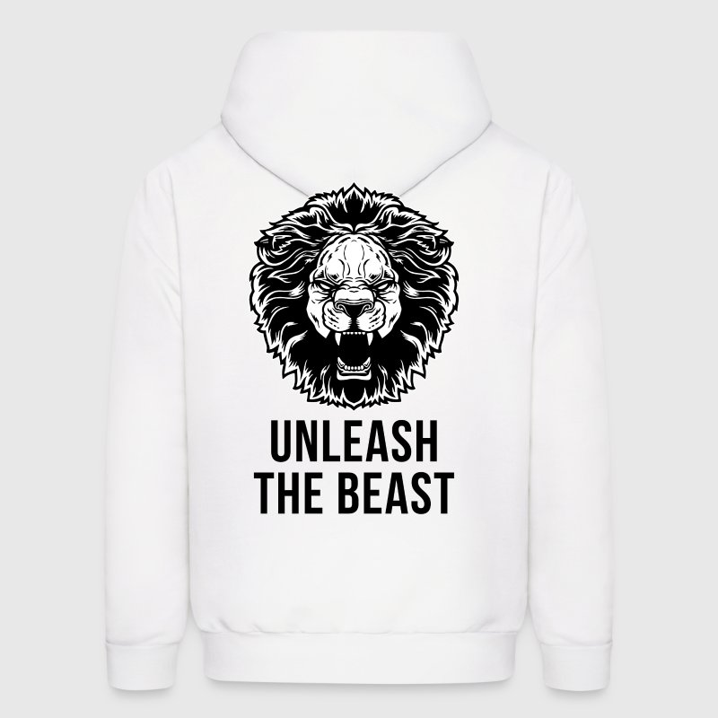 Unleash The Beast - Men's Hoodie