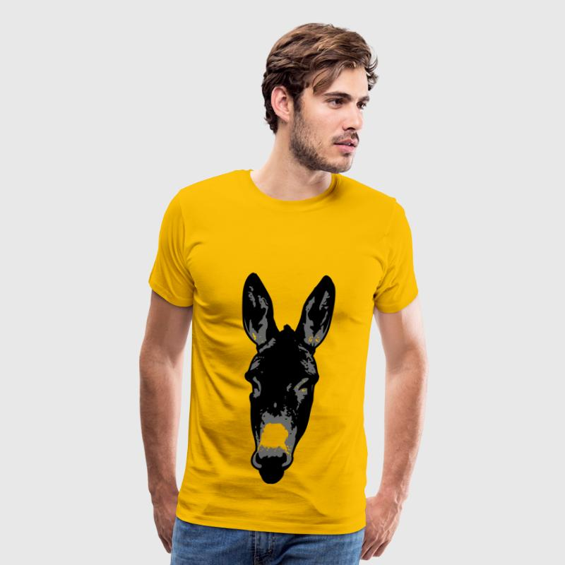 Donkey head - Men's Premium T-Shirt