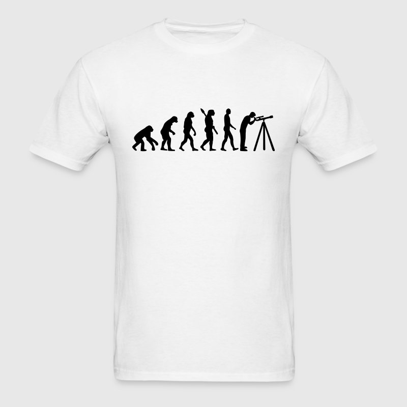 Evolution Astronomy T-Shirts - Men's T-Shirt