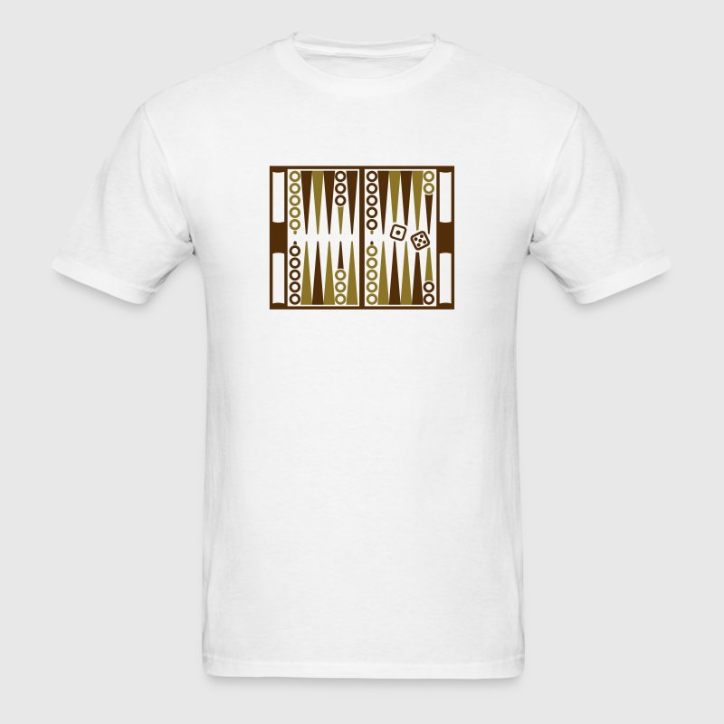 Backgammon T-Shirts - Men's T-Shirt